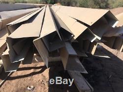 19x60Metal sheeting carport, metal building materials, steel posts, steel beams