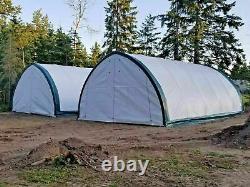 20'x30'x12' Peak Tension Fabric Storage Shelter Building (RETAIL $2,850)