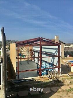 20x42x16 Steel Building SIMPSON RV or Camper Garage Storage as shown in picture