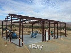 25x45x14 Steel Building Kit SIMPSON Metal Garage Workshop Prefab Structure