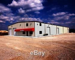 30'x30'x16' Steel Garage/Workshop Building Kit Excel Metal Building Systems Inc