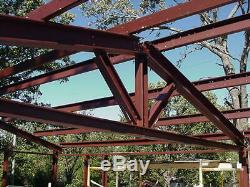 30x30x10 Steel Building Kit Metal Garage Workshop Prefab Structure