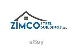 32x18x9 Carport Steel Building Kit, 3 Stall Car garage leanto metal building