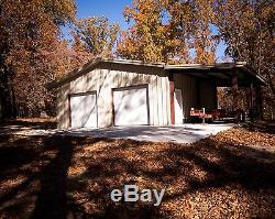 33'x45'x12' Steel Garage/Workshop Building Kit Excel Metal Building Systems Inc