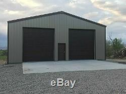 40x60x15 Steel Building SIMPSON Metal Kit Garage Workshop Prefab Structure