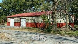 40x75x12 Steel Building SIMPSON Garage Storage Barn Metal Shop Kit