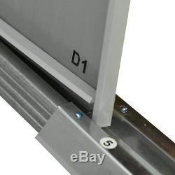 4' x 6' Garden Shed Storage Kit DIY Backyard Metal Building Doors Outdoor Steel