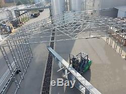52x65 Commercial Grade Metal Building STEEL Heavy Industrial Equipment Cover