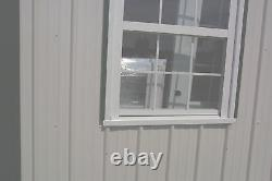 American Barn-all Galvanized Steel & Insulated! Building Garage-metal