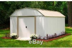 Arrow Dakota Steel Shed Building Kit 10 feet x 14 ft Pre Fab Metal Buildings