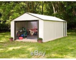 Arrow Murryhill Steel Garage Shed Building Kit 12x24 ft Outdoor Metal Buildings