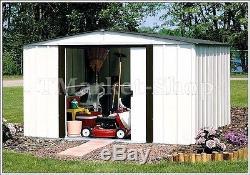 Arrow Sheds 8x6 Newburgh Steel Outdoor Garden Storage Shed Utility Building Bike