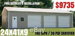 Barn, RV Cover, Metal Building, Carport, Steel Garage, Utility Shed, Canopy