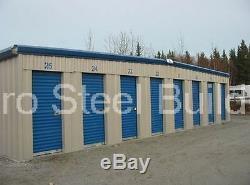 DURO Mini Self Storage 20x50x8.5 Metal Prefab Steel Building Structures DiRECT