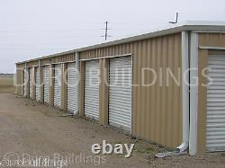 DURO Steel 30x150x8.5 Metal Prefab Mini Self Storage Building Structures DiRECT