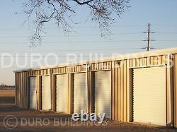 DURO Steel 40x100x9.5 Metal Prefabricated Mini Self Storage Building Kits DiRECT