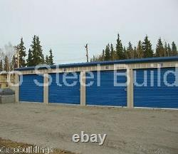 DURO Steel Mini Self Storage 10x100x9.5 Metal Prefab Building Structures DiRECT