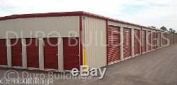 DURO Steel Mini Self Storage 40x120x8.5 Metal Prefab Modular Building Kit DiRECT