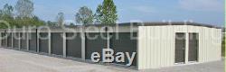 DURO Steel Mini Self Storage Kits 20x100x9.5 Metal Building Structures DiRECT