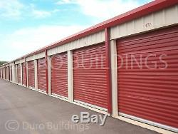 DURO Steel Prefab Mini Self Storage 50x120x8.5 Metal Building Structures DiRECT