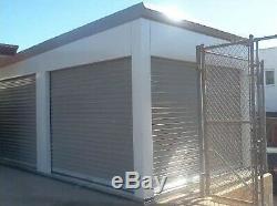 DURO Steel Prefab Portable Storage Kit 20x10x8.6 Metal Building Structure DiRECT