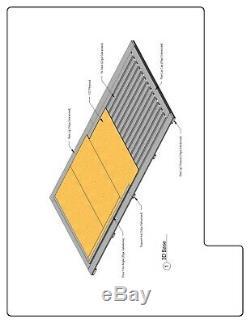 DURO Storage Kit 10x20x8.5 Metal Prefab Portable Steel Building Structure DiRECT