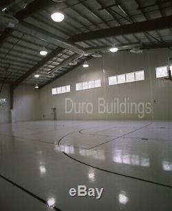 DuroBEAM Steel 100'x100'x20' Metal Prefab Clear Span I-Beam Building Kits DiRECT