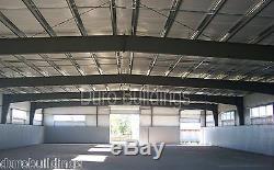 DuroBEAM Steel 100'x100'x21' Metal Prefab MADE TO ORDER Building Workshop DiRECT