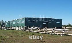 DuroBEAM Steel 100x100x18 Metal Clear Span Horse Riding Arena Building DiRECT