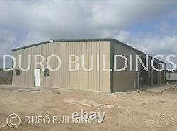 DuroBEAM Steel 100x100x26 Metal Prefab Clear Span All Open Space Building DiRECT