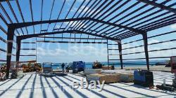 DuroBEAM Steel 100x250x20 Metal Frame I-Beam Buildings Clear Span Hangers DiRECT