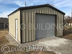 DuroBEAM Steel 24x30x10g Metal Building Kits DIY Prefab Garage Workshop DiRECT