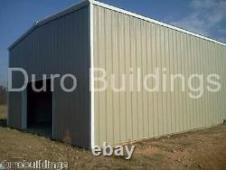 DuroBEAM Steel 30'x40'x12' Metal Red Iron Barn Machine Shed Building Kit DiRECT