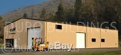 DuroBEAM Steel 30x100x16 Metal Garage Workshop Prefab Building Structure DiRECT