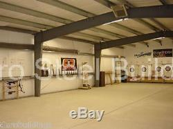 DuroBEAM Steel 30x30x16 Metal Building Shed Auto Lift Workshop Garage Kit DiRECT