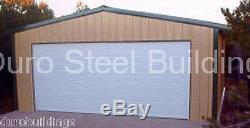 DuroBEAM Steel 30x36x11 Metal Prefab Garage Workshop I-Beam Building Kit DiRECT
