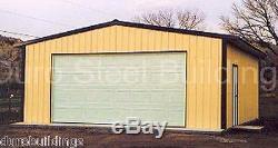 DuroBEAM Steel 30x40x11 Metal Prefab Garage Barn Building Shed Workshop DiRECT