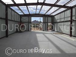 DuroBEAM Steel 30x48x12 Metal Building Kit Clear Span Garage DIY Workshop DiRECT