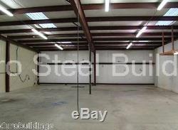 DuroBEAM Steel 30x52x15 Metal Building Home Workshop Auto Lift Garage Kit DiRECT