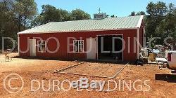 DuroBEAM Steel 30x56x14 Metal I-Beam Garage Prefab Barn Workshop Building DiRECT