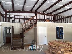 DuroBEAM Steel 30x60x14 Metal Prefab Garage Barn Ibeam Building Workshop DiRECT