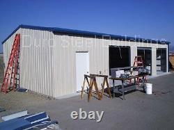 DuroBEAM Steel 40'x50'x12' Metal I-beam DIY Building Kit Garage Workshop DiRECT