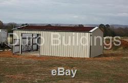 DuroBEAM Steel 40x40x12 Metal Frame I-Beam Building Garage Shop Structure DiRECT