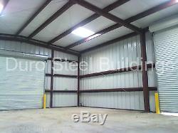 DuroBEAM Steel 40x50x12 Metal Frame I-Beam Building Garage Shop Structure DiRECT