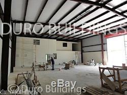 DuroBEAM Steel 40x50x13 Residential Metal Building Storage Workshop Kit DiRECT