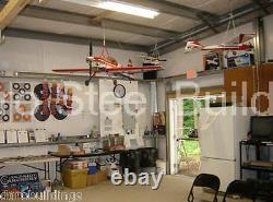 DuroBEAM Steel 40x60x12 Metal Garage Storage Auto Salvage Building Shop DiRECT