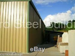 DuroBEAM Steel 40x60x14 Metal Building Kit Clear Span DIY Garage Workshop DiRECT