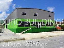 DuroBEAM Steel 40x66x14 Metal Garage Prefab Workshop Building Structure DiRECT
