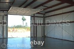 DuroBEAM Steel 40x74x12 Metal Rigid Frame Prefab Ibeam Building Structure DiRECT