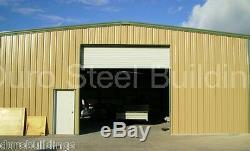 DuroBEAM Steel 40x78x16 Metal Garage Building Kit Auto Body Lift Workshop DiRECT
